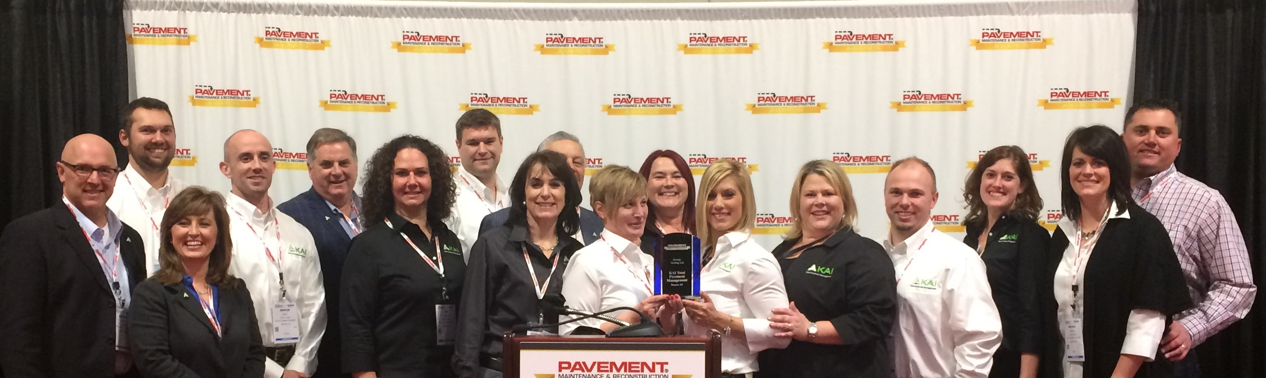 Award winning national paver K.A.I.