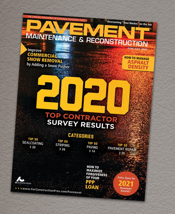 Pavement Magazine Top 50 Contractor
