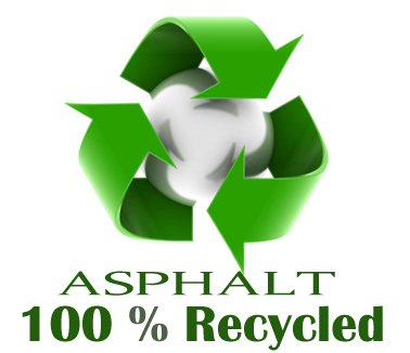 Asphalt is recyclable
